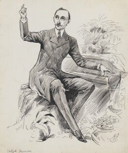 Clifford Harrison, by Harry Furniss - NPG 6251(23)
