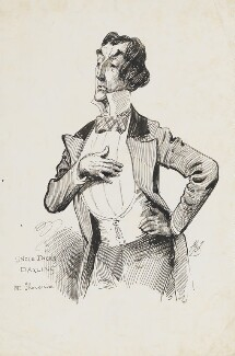 Sir Henry Irving, by Harry Furniss - NPG 6251(28)