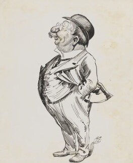 Henry Augustus Johnston, Lord Johnston, by Harry Furniss - NPG 6251(32)