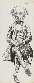 John Stuart Mill, by Harry Furniss - NPG 6251(40)