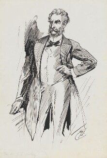 John Lothrop Motley, by Harry Furniss,  - NPG 6251(42) - © National Portrait Gallery, London