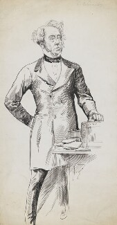 Henry John Temple, 3rd Viscount Palmerston, by Harry Furniss - NPG 6251(46)