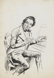 John Orlando Parry, by Harry Furniss - NPG 6251(47)