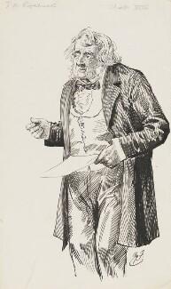 John Arthur Roebuck, by Harry Furniss,  - NPG 6251(51) - © National Portrait Gallery, London
