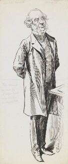 John Russell, 1st Earl Russell, by Harry Furniss - NPG 6251(54)