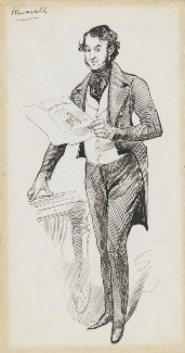 Henry Russell, by Harry Furniss - NPG 6251(55)