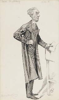 Anthony Ashley-Cooper, 7th Earl of Shaftesbury, by Harry Furniss - NPG 6251(56)