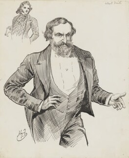 Albert Richard Smith, by Harry Furniss - NPG 6251(57)
