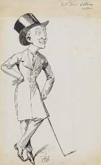 Sam Sothern (George Evelyn Augustus Turnley Sothern), by Harry Furniss - NPG 6251(58)