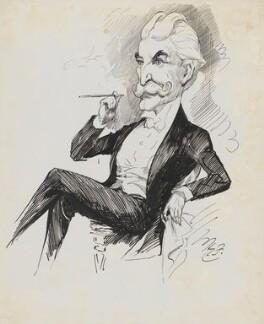 Hugh Valdave Warrender, by Harry Furniss - NPG 6251(63)