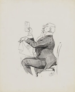 Sir William Henry Weldon, by Harry Furniss - NPG 6251(65)