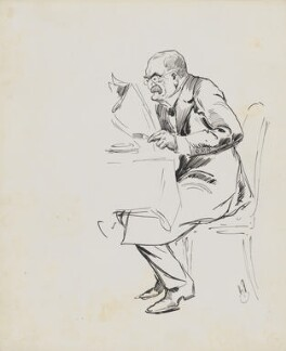 Sir Dawson Williams, by Harry Furniss - NPG 6251(67)