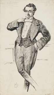 William Samuel Woodin, by Harry Furniss - NPG 6251(68)