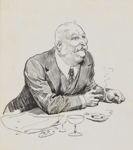 William Knox D'Arcy, by Harry Furniss - NPG 6251(14)