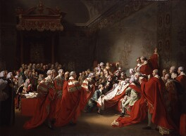 The Death of the Earl of Chatham, by John Singleton Copley, 1779-1781 - NPG L146 - Tate 2017; on loan to the National Portrait Gallery, London