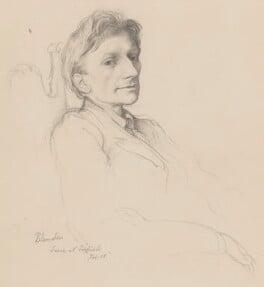 Edmund Blunden, by Rex Whistler - NPG 6254