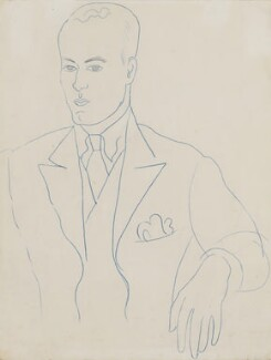Harold Acton, by John Banting - NPG 6255