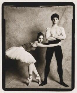 Darcey Bussell; Jonathan Cope, by Jillian Edelstein - NPG P553