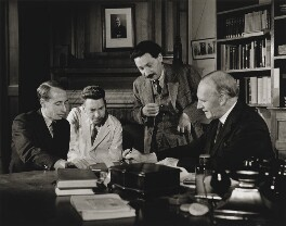 Oxford Scientists, by Wolfgang Suschitzky - NPG P562