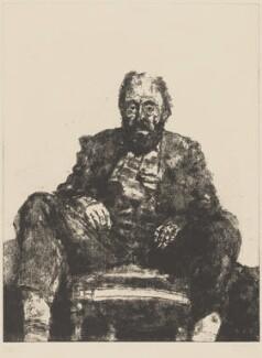 David Sylvester, by Avigdor Arikha, 1973 - NPG 6260 - © National Portrait Gallery, London