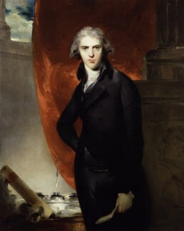 Robert Jenkinson, 2nd Earl of Liverpool by Sir Thomas Lawrence, 1793-6 © National Portrait Gallery, London Accepted in lieu of tax by H.M. Government and allocated to the Gallery, 1994
