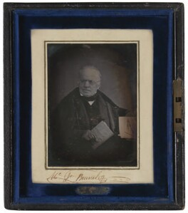 Sir Marc Isambard Brunel, by Unknown photographer, circa 1845 - NPG P578 - © National Portrait Gallery, London