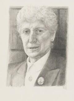 Elizabeth Butler-Sloss (née Havers), Baroness Butler-Sloss, by Andrew Ratcliffe - NPG 6318