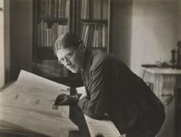 Sir Evan Owen Williams, by Sims & Co - NPG P565