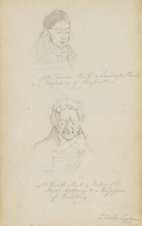 Joseph Mallord William Turner; Henry Fuseli, by Thomas Cooley - NPG 4913a