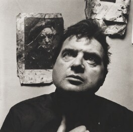 Francis Bacon, by Irving Penn - NPG P587