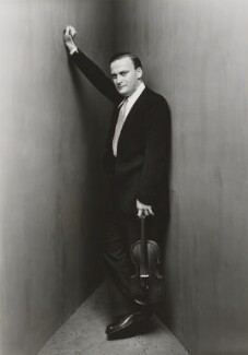 Yehudi Menuhin, by Irving Penn - NPG P595
