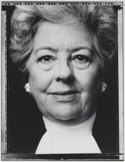 Betty Boothroyd, Baroness Boothroyd, by Nick Sinclair - NPG P563(7)