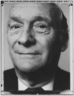 John Joseph Benedict Hunt, Baron Hunt of Tanworth, by Nick Sinclair - NPG P563(22)