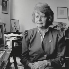 Dame Kathleen Ollerenshaw (née Timpson), by Nick Sinclair - NPG P564(18)