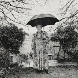 Dame Miriam Louisa Rothschild, by Nick Sinclair, 1993 - NPG P564(20) - © Nick Sinclair