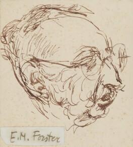 E.M. Forster, by Feliks Topolski - NPG 6326