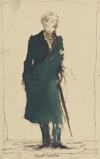 Harold Macmillan, 1st Earl of Stockton, by Feliks Topolski, 1950-1955 - NPG 6329 - © estate of Feliks Topolski