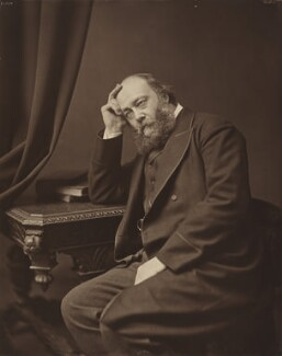 Robert Gascoyne-Cecil, 3rd Marquess of Salisbury, by William Cooper, 1883 - NPG P608 - © National Portrait Gallery, London