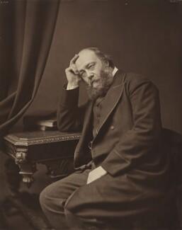 Robert Gascoyne-Cecil, 3rd Marquess of Salisbury, by William Cooper, 1883 - NPG P608 - © National Portrait Gallery, London
