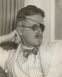 James Joyce, by Berenice Abbott - NPG P609