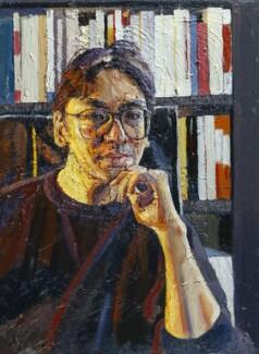 Kazuo Ishiguro, by Peter Edwards, 1995 - NPG 6332 - © National Portrait Gallery, London