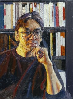 Sir Kazuo Ishiguro, by Peter Edwards, 1995 - NPG  - © National Portrait Gallery, London