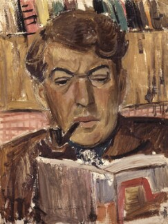 Kingsley Amis, by Gordon Stuart, 1953 - NPG  - © National Portrait Gallery, London
