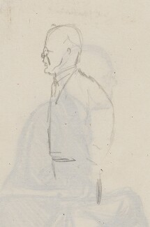 John Galsworthy, by Sir David Low - NPG 4529(135a)