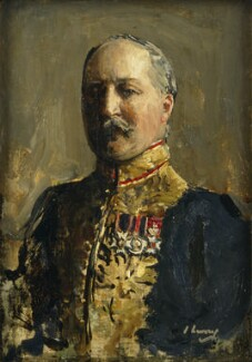 Sir Lionel Henry Cust, by Sir John Lavery - NPG 6337
