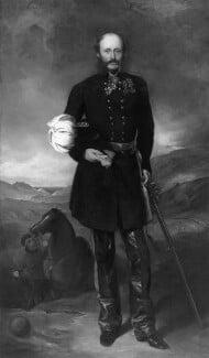 George Charles Bingham, 3rd Earl of Lucan, by Sir Francis Grant - NPG 6338