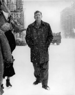 W.H. Auden, by Richard Avedon, 1960 - NPG  - © Richard Avedon Foundation