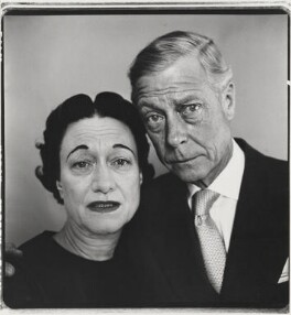 Wallis, Duchess of Windsor; Prince Edward, Duke of Windsor (King Edward VIII), by Richard Avedon, 1957 - NPG P616 - © Richard Avedon Foundation