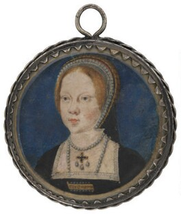 Queen Mary I, attributed to Lucas Horenbout (or Hornebolte), circa 1525 - NPG 6453 - © National Portrait Gallery, London