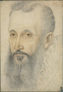 George Talbot, 6th Earl of Shrewsbury, by Unknown artist, inscribed 1582 - NPG 6343 - © National Portrait Gallery, London